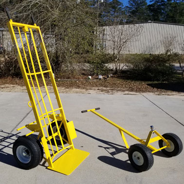 large hand truck for inflatables