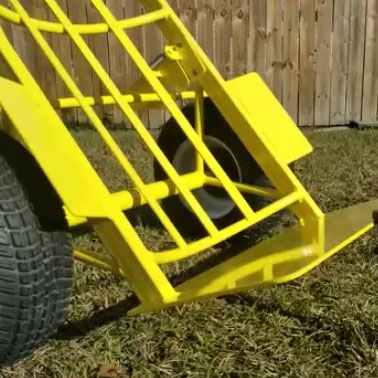 heavy duty bounce house hand truck