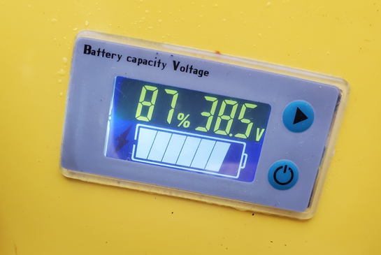 power plus lcd battery indicator